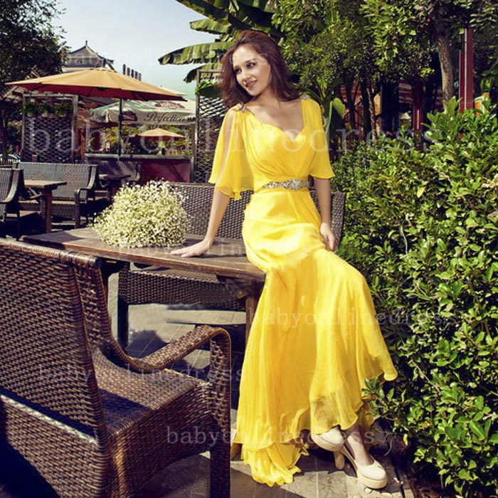 Yellow Gown Online - Guide Of Selecting